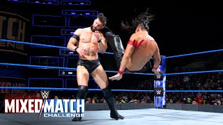Finn Bálor & Sasha Banks vs. Shinsuke Nakamura & Natalya - WWE Mixed Match Challenge