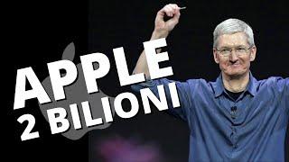 Apple vale 2 bilioni di dollari: e adesso?