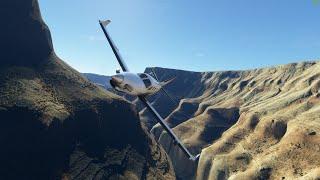 Celebrating Microsoft Flight Simulator\'s USA World Update with Flight Through the Gorgeous Grand Canyon