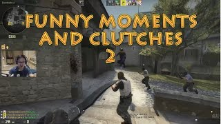 CS GO FUNNY MOMENTS AND CLUTCHES - 2 (INDO)