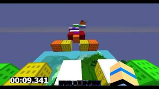 Minecraft: Parkour [#4] | Rainbow Map by Coorchac width=