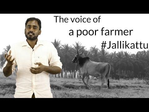 The voice of a poor farmer. #Jallikattu