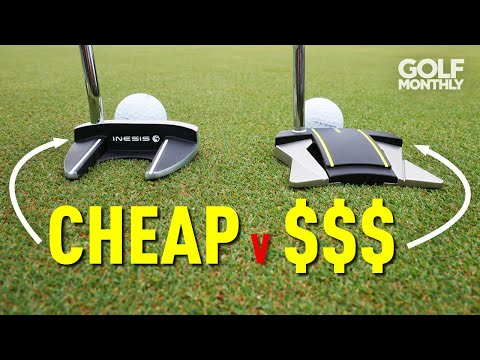 CHEAP v EXPENSIVE PUTTER TEST (Inesis v Scotty Cameron)