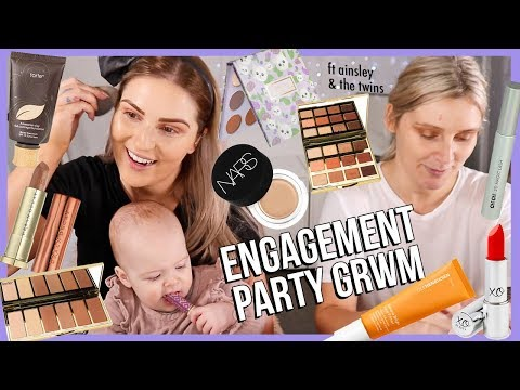GRWM, My Cousin & The Twins! ?? MY ENGAGEMENT PARTY