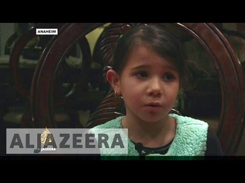 Syrian family decries Trump's ban on refugees