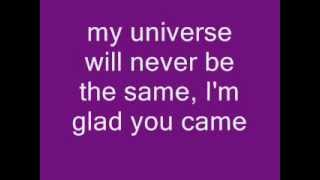 Glad You Came - Glee Version with lyrics