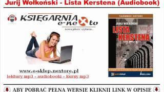 LISTA KERSTENA - Manipulator szefa SS (AUDIOBOOK MP3) - III Rzesza... Ksawery Jasieński