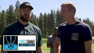 Travis Kelce on TEs he watches, Patrick Mahomes' best throw | Chris Simms Unbuttoned | NBC Sports