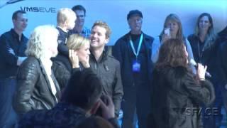 At SpaceshipTwo Christening, Sarah Brightman Sings Happy Birthday | Video