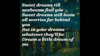 Laura Fygi - Dream a Little Dream of Me (with lyrics)