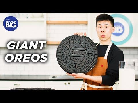 I Made Giant 30-Pound Oreos • Tasty