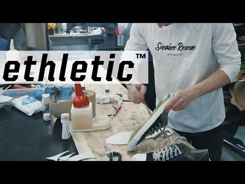 Upcyclen statt wegwerfen: Ethletic kooperiert mit Sneaker Rescue