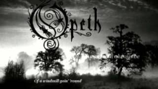 Opeth - Soldier of Fortune (Lyrics)