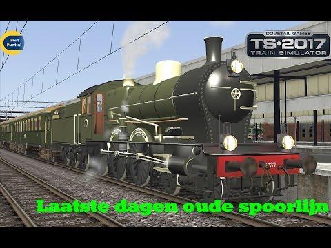 Laatste dagen oude spoorlijn naar Belgie | NS 3737 | Train Simulator 2017