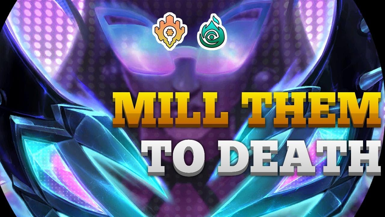 AlanzqTFT - Mill Them to Death | Patch 1.16 | Ezreal Mill | Legends of Runeterra | Ranked LoR
