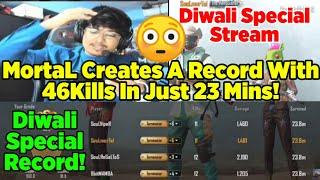 Team SouL + 8bit Sets A Record Of 46 Kills In 23 Minutes | MortaL Diwali Special | Impossible Record
