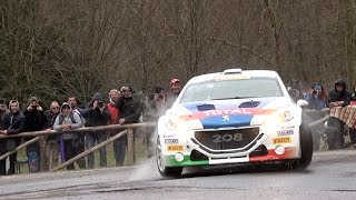 Rally Il Ciocco 2017: Peugeot 208 T16 e Paolo Andreucci – Highlights
