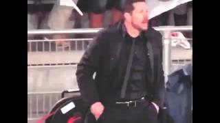 Diego simeone vs Barça ucl