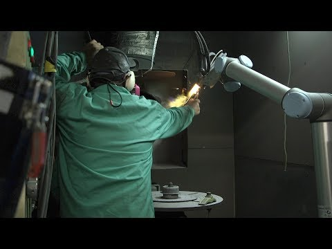 Maintenance free collaborative robots operate continuously in harsh environment