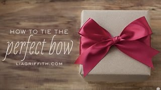 How to Tie the Perfect Bow