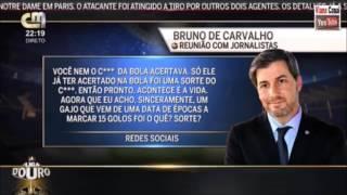 BdC chama marreco a  Castaignos