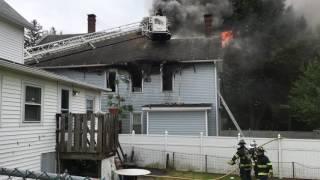 Ansonia Fire Hubbell Avenue 5 23 2017