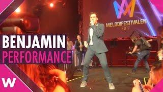"Benjamin Ingrosso ""Good Lovin'"" Live @ Melodifestivalen 2017 After Party"