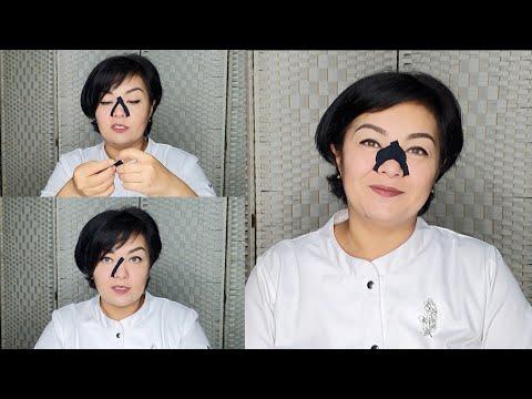 Как убрать носогубные складки с помощью кинезиотейпа photo