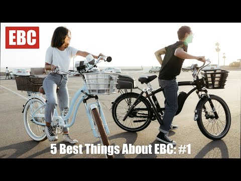 The 5 Best Things about EBC: #1 - Fully Customizable Bikes