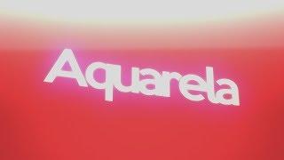 Magyn - Aquarela (Tipografia)