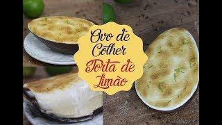 OVO DE COLHER TORTA DE LIMÃO | Bem Vindos à Cozinha | Receita 101