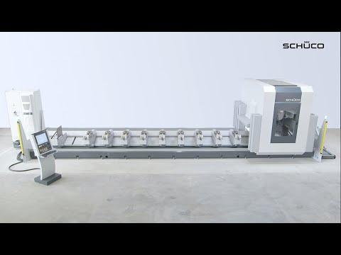Schüco Maschine AF 500 - CNC-Bearbeitung