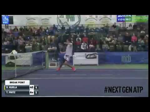Fritz On Fire! Teen Strikes Trio Of Hot Shots At Dallas Challenger
