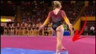 سقط لها قميص الرياضة أنظروا ما حدث