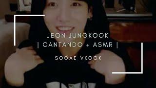 Jungkook cantando Only then, Euphoria y Let go + ASMR