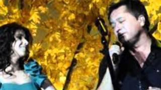 Paula Fernandes ft Leonardo tocando em frente gravação DVD