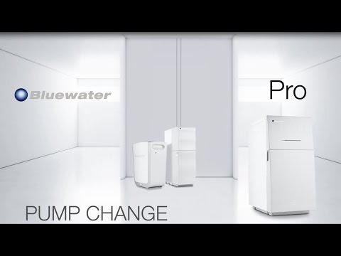 Changing the pump in your Bluewater Pro