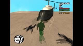 GTA SA - Police Maverick stealing