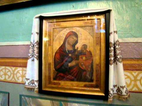 01 07 2011 Monastery UGKC Church Mikhail Archangel Mezhyhirja Transcarpathia Ukraine MOV03384 By Paul V  Lashkevich