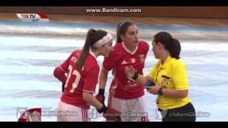 Hóquei em Patins Feminino: Stuart HC Massamá 1-5 SL Benfica