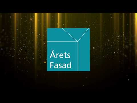 Presentation av Årets Fasad, jury och de nominerade bidragen under Fasadforum 14 nov. 2019