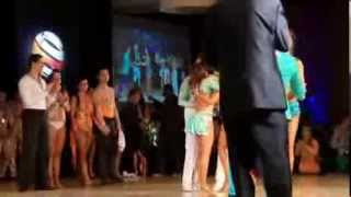 David and Paulina - 2013 World Latin Dance Cup - Results
