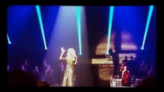 "Celine Dion performs Adele's ""Hello"" LIVE!"