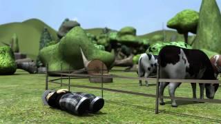 Würden Sie Menschenfleisch essen Fleisch isst Menschen Video-Clip