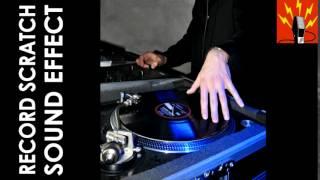 Record Scratch Sound Effect Short