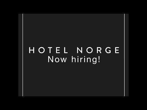 Hotel Norge søker lederteamet