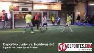 Deportivo Junior frena al Honduras en Chicago