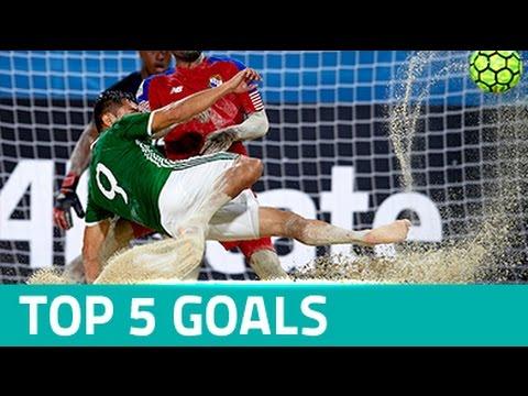 TOP 5 GOALS: CONCACAF Beach Soccer Championship Bahamas 2017