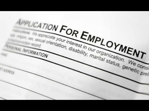 Personal information in Job applications One thing I Do Not like about American companies