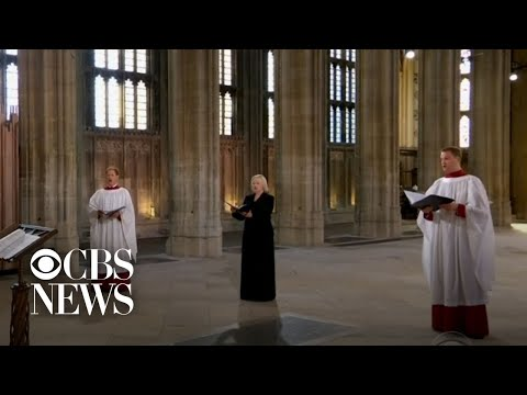 Funeral held for Prince Philip at St. George's Chapel
